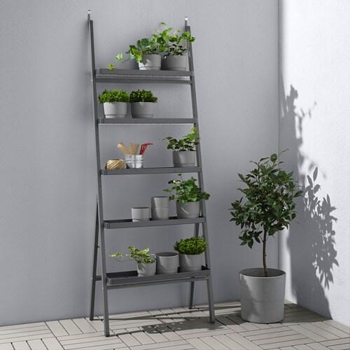 СЭЛЛАДСКОЛЬ Пьедестал для цветов, для сада, серый, 173 см-2