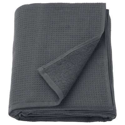 SALVIKEN Ręcznik kąpielowy, antracyt, 100x150 cm