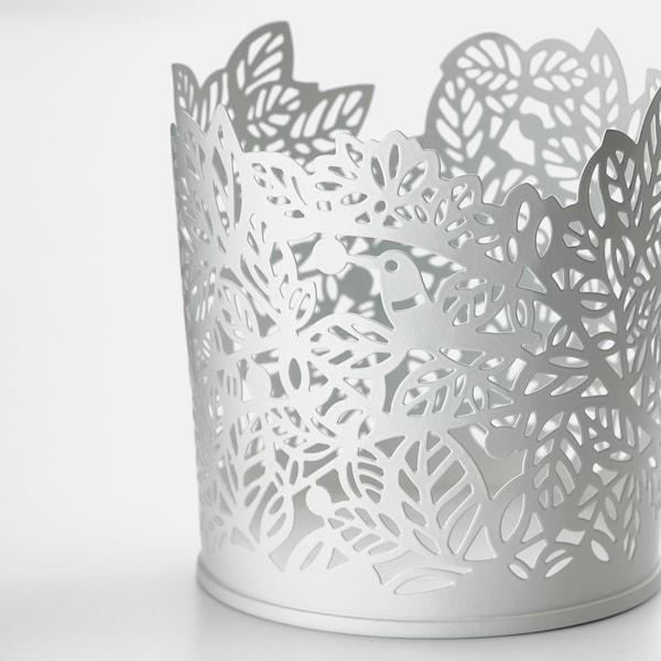 SAMVERKA świecznik na tealighty biały 8 cm 8 cm