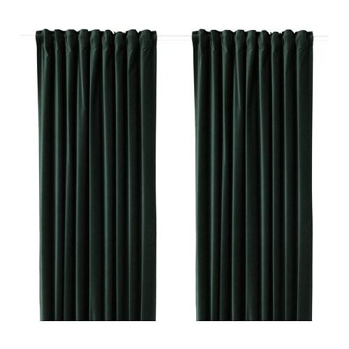 Sanela Zasłony Zaciemniające 1 Para Ikea