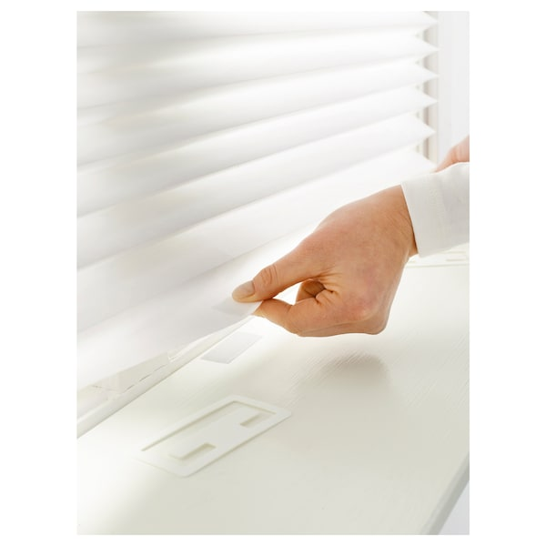SCHOTTIS Plisowana roleta panelowa, biały, 90x190 cm