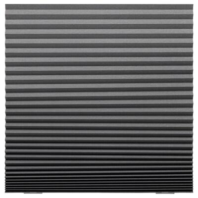 SCHOTTIS Żaluzja plisowana blokująca światło, ciemnoszary, 100x190 cm