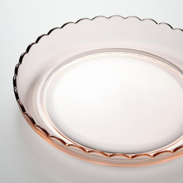 SESAMFRÖN Talerz ozdobny, jasnoróżowy, 30 cm