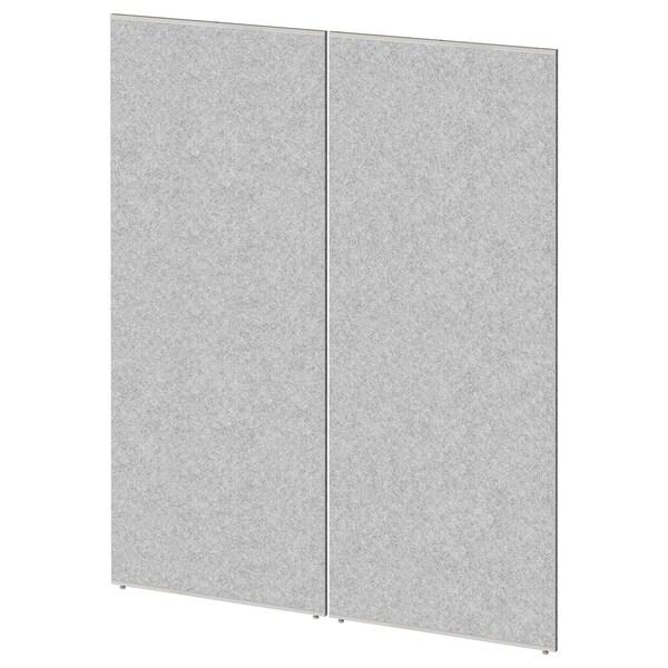 SIDORNA Ścianka działowa, szary, 80x195 cm