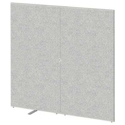 SIDORNA Ścianka działowa, szary, 160x150 cm