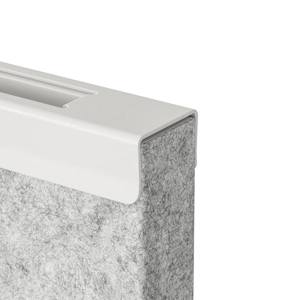 SIDORNA Ścianka działowa, szary, 324x160x150 cm