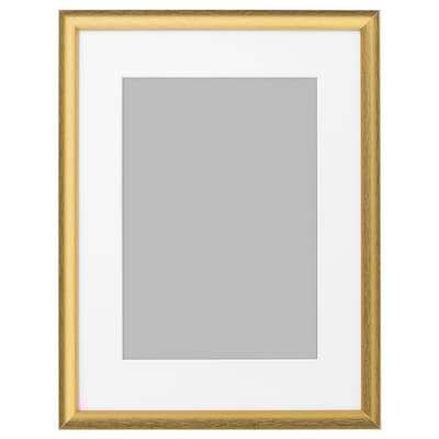 SILVERHÖJDEN Ramka, złoty kolor, 30x40 cm