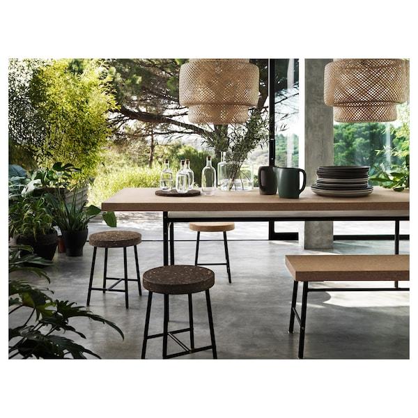 SINNERLIG Lampa wisząca, bambus/wykonano ręcznie