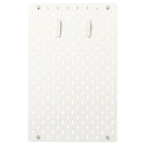 SKÅDIS tablica perforowana kombinacja biały 36 cm 4 cm 56 cm