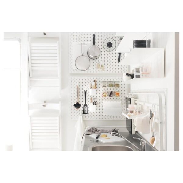 SKÅDIS Pojemnik z pokrywą, biały