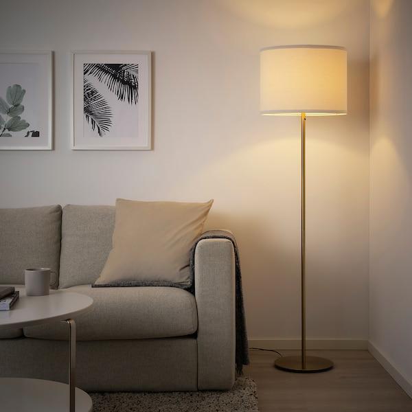 SKAFTET Podstawa lampy podłogowej, kolor mosiądzu