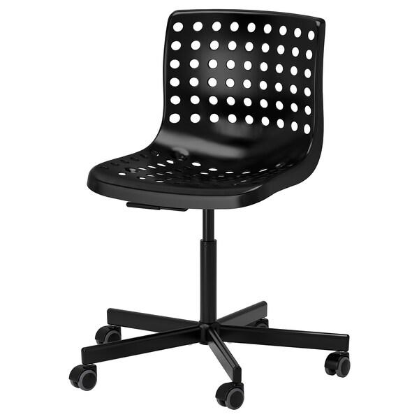 SKÅLBERG SPORREN Krzesło obrotowe, czarny, Dodaj do