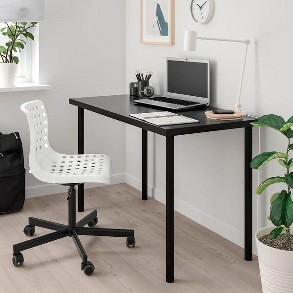 SKÅLBERG SPORREN Krzesło obrotowe, biały, czarny, Zamów