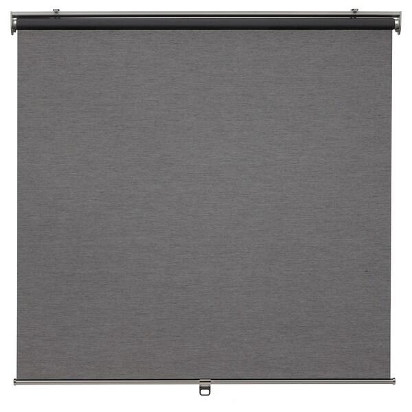 SKOGSKLÖVER roleta szary 80 cm 83.4 cm 195 cm 1.56 m²