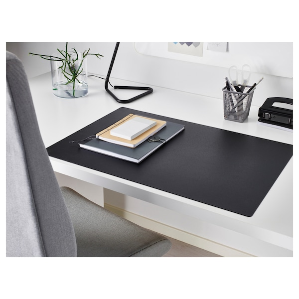 SKRUTT podkładka na biurko czarny 65 cm 45 cm