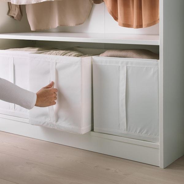 SKUBB pudełko biały 31 cm 34 cm 33 cm 3 szt.