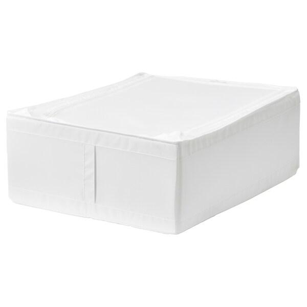 SKUBB Pojemnik na ubrania/pościel, biały, 44x55x19 cm
