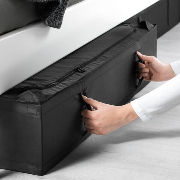 SKUBB pojemnik na ubrania/pościel czarny 93 cm 55 cm 19 cm