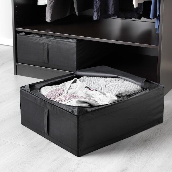 SKUBB pojemnik na ubrania/pościel czarny 44 cm 55 cm 19 cm