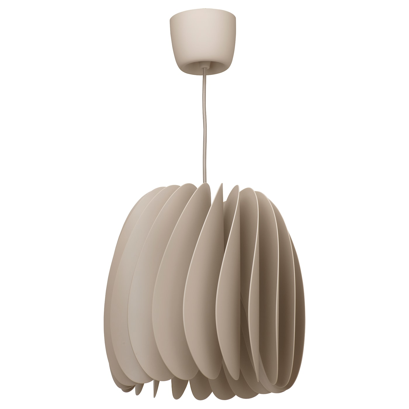 IKEA SKYMNINGEN Lampa wisząca, beżowy