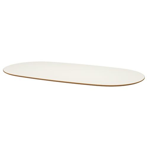 SLÄHULT blat biały 185 cm 90 cm 2 cm