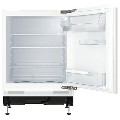 SMÅFRUSEN Lodówka podblatowa, IKEA 500 zintegrowany/biały, 134 l