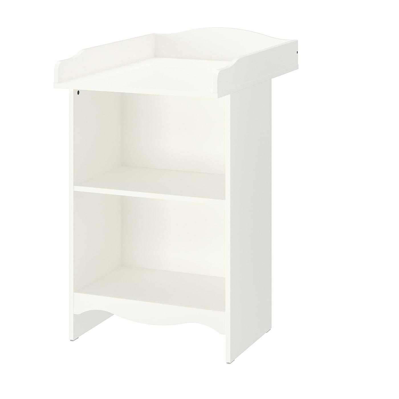 IKEA SMÅGÖRA Stolik do przewijania/regał, biały