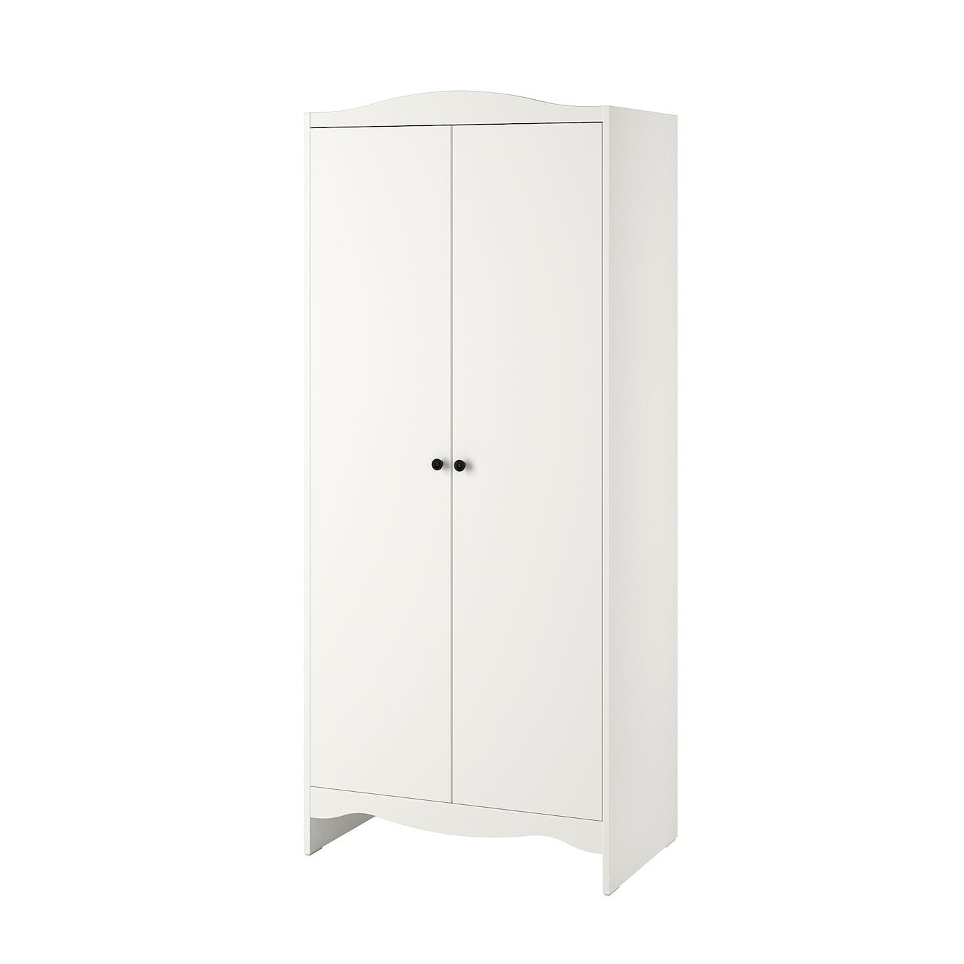 IKEA SMÅGÖRA Szafa, biały, 80x50x187 cm