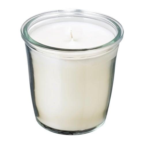 Sm trevlig wieca zapachowa w szkle ikea - Ikea candele profumate ...