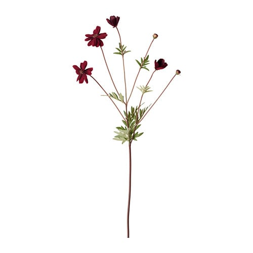 СМИККА Цветок искусственный, космос, сиреневый, 65 см-1