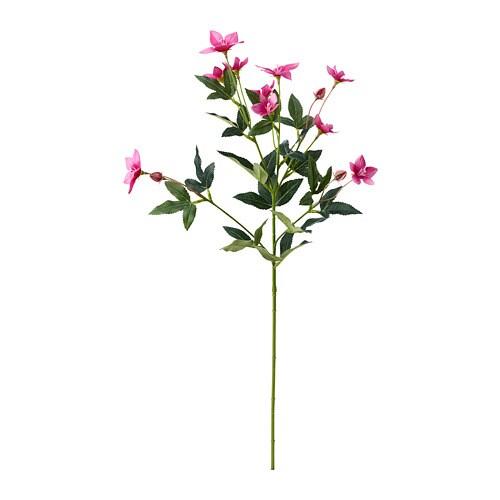 СМИККА Цветок искусственный, Розовый осветитель, розовый, 60 см-1