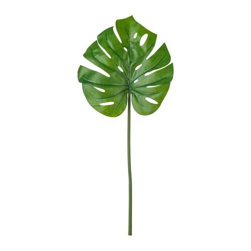 СМИККА Цветок искусственный, монстера, зеленый, 80 см-1