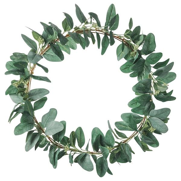 SMYCKA Sztuczny stroik, zielony, 50 cm