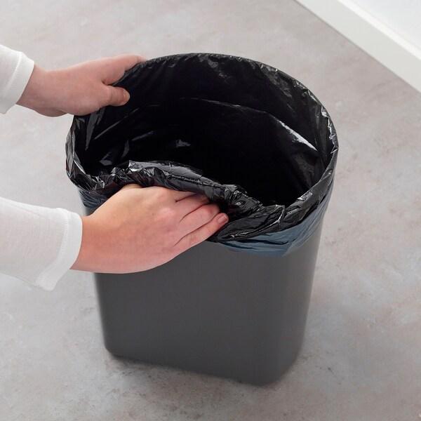 SNÄPP Kosz na odpady, szary, 12 l