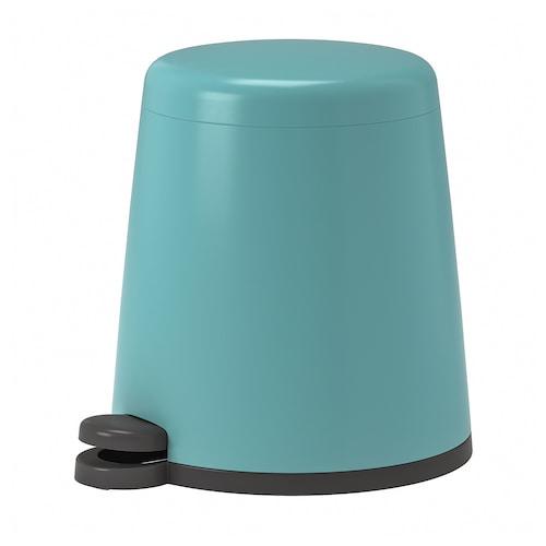 SNÄPP kosz na odpady niebieski 29 cm 26 cm 5 l