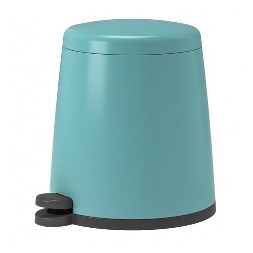 SNÄPP kosz na odpady niebieski 37 cm 32 cm 12 l