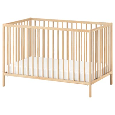 SNIGLAR Łóżko dziecięce, buk, 60x120 cm