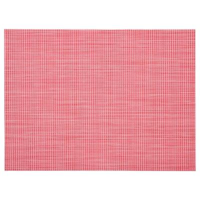 SNOBBIG Podkładka, jasnoczerwony, 45x33 cm