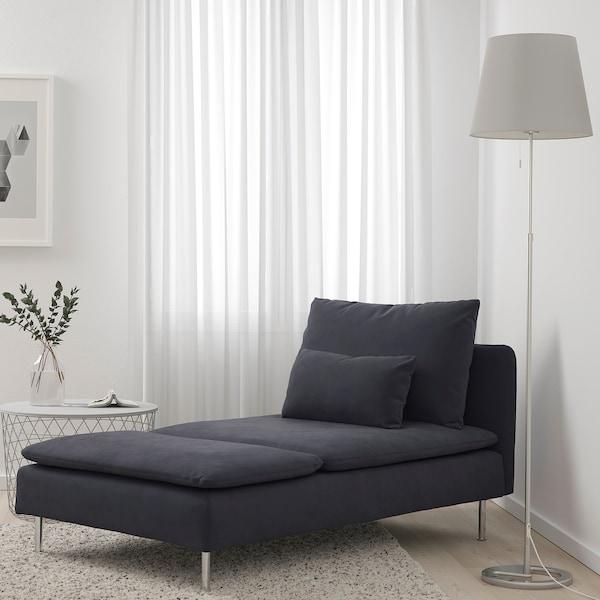 Szezlong SÖDERHAMN Ikea grafitowy