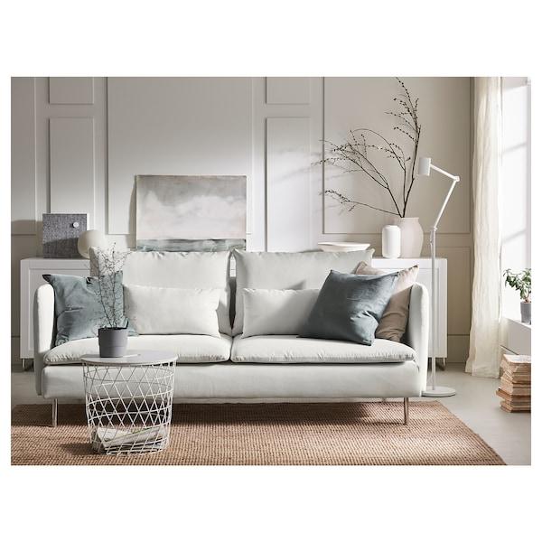 SÖDERHAMN Sofa 3-osobowa, Finnsta biały