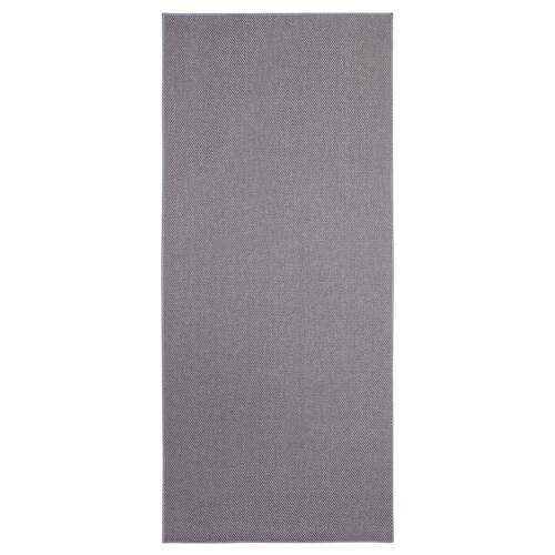 SÖLLINGE dywan tkany na płasko szary 150 cm 65 cm 3 mm 0.98 m² 1500 g/m²