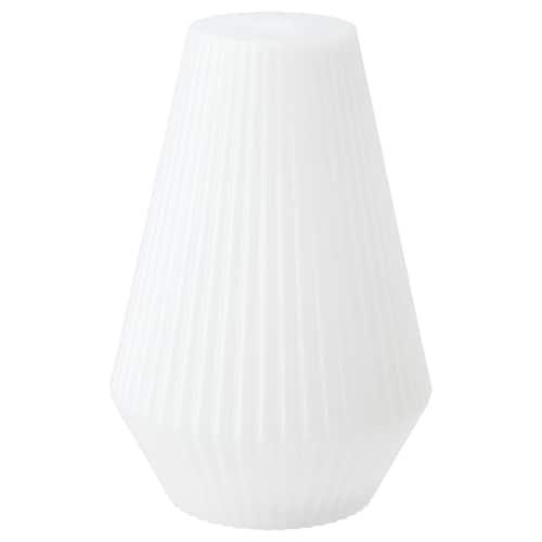 SOLVINDEN lampa podłogowa na baterie, LED zewnętrzne/plastik biały 20 cm 30 cm