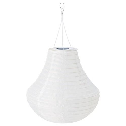 SOLVINDEN lampa wisząca na energię słon. LED zewnętrzne/biały 3 lm 34 cm 35 cm 35 cm