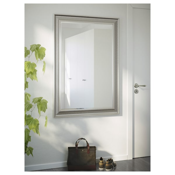 SONGE lustro srebrny 91 cm 130 cm