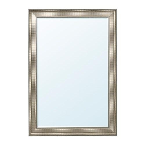SONGE peegel, hõbedane, 74x165 cm