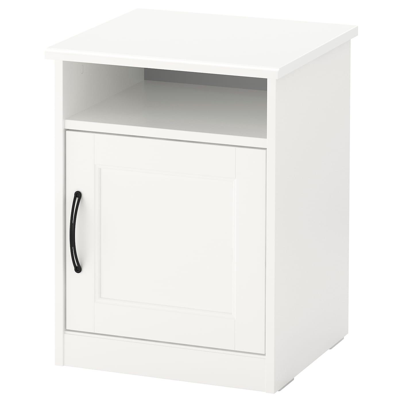 IKEA SONGESAND biały stolik nocny, 42x40 cm