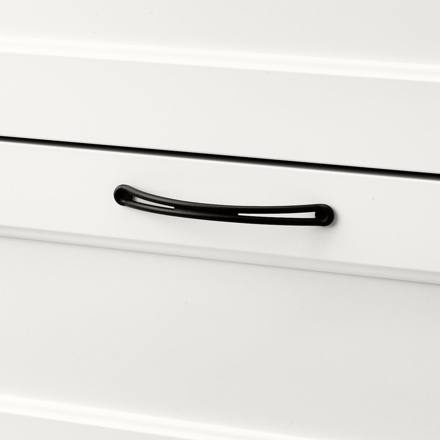 SONGESAND Komoda, 6 szuflad, biały, 82x126 cm