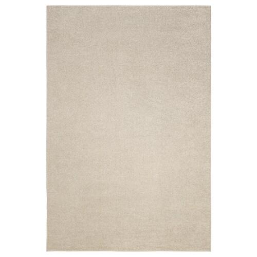 SPORUP dywan z krótkim włosiem jasnobeżowy 300 cm 200 cm 11 mm 6.00 m² 2200 g/m² 800 g/m² 9 mm
