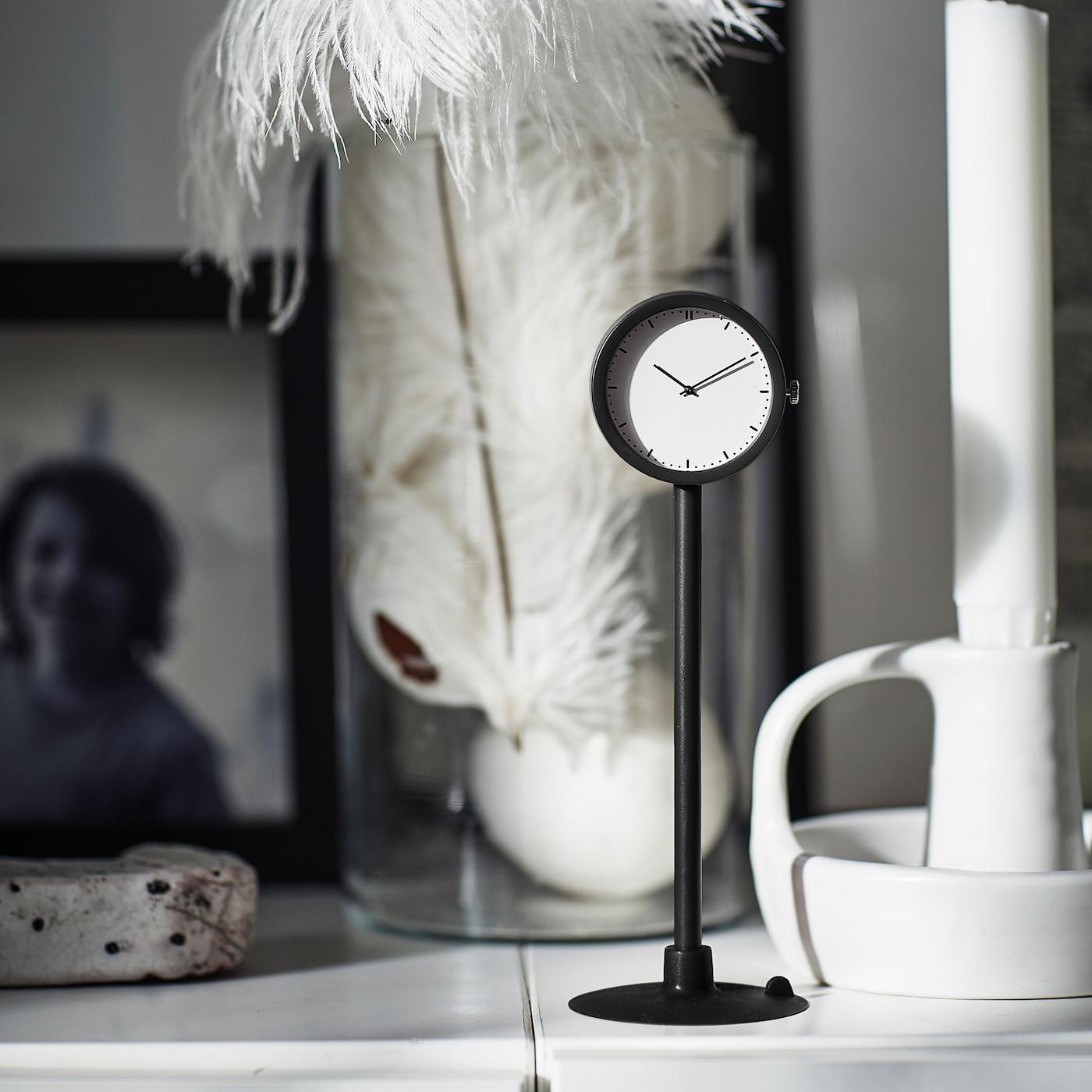 STAKIG Zegar - czarny 16.5 cm