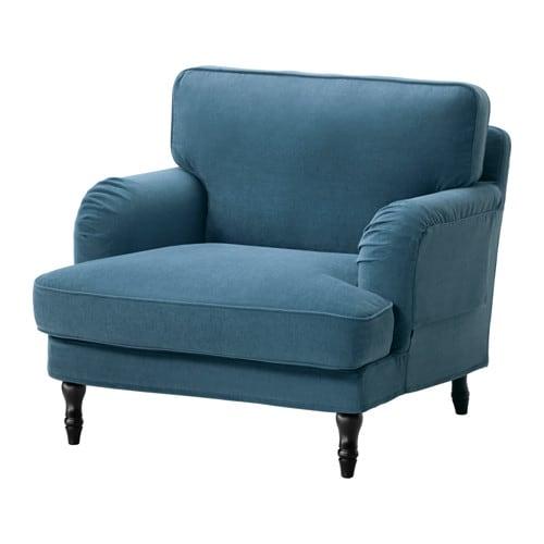 stocksund fotel ljungen niebieski czarny ikea. Black Bedroom Furniture Sets. Home Design Ideas